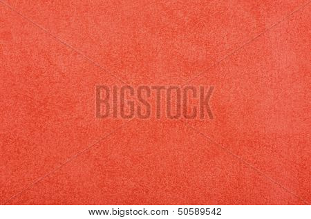 Leather texture in red color