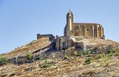 Castle Of San Vicente De La Sonsierra In La Rioja