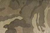 picture of camoflage  - close up of the camouflage fabric texture - JPG