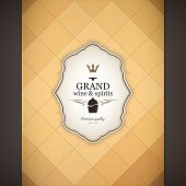 image of card-making  - Wine list design - JPG