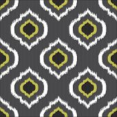 foto of emerald  - Ikat seamless pattern for web design or home decor - JPG