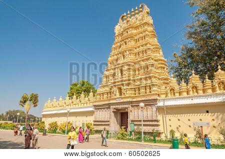 Temple In Mysore Palace Complex