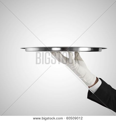 Hand With Plate