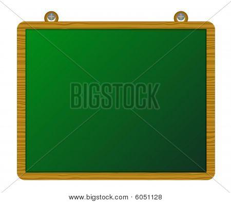 Wood greenboard