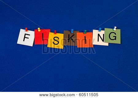 Fisking, Sign Series for Blogging, Internet and Computers.