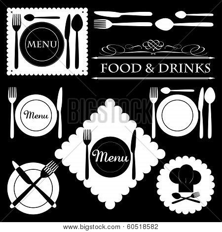 Restaurant and Bar Icons