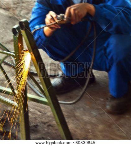 Gas-weld