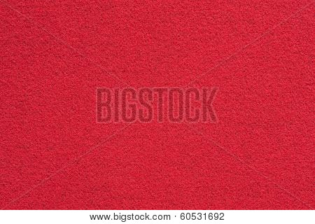 Texture Of Red Soft Fabric