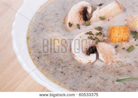Mushrooms Soup