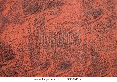Primed corroded metal surface