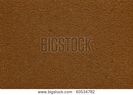 Fleecy Texture Of Brown Color