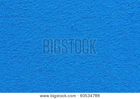 Fleecy Texture Of Blue Color
