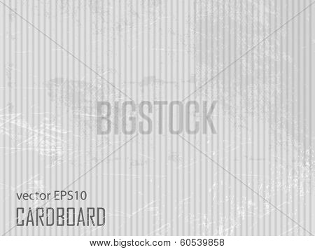 Cardboard texture - grey paper background