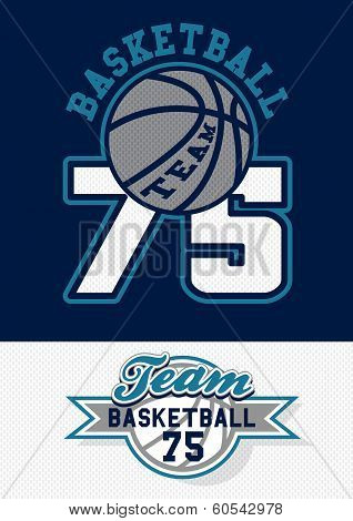 Basketball Team Print
