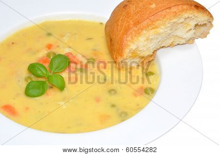 Creamy Country Vegetable Soup
