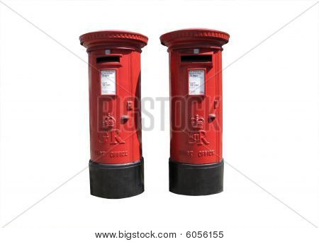 Red Royal Mail Boxes