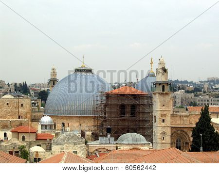 Roofs of ancient Jerusalem