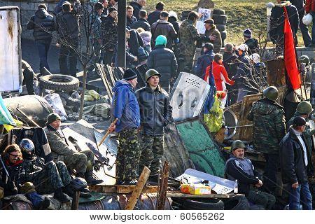 Anti-government Protests In Kyiv, Ukraine