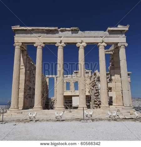 Erechtheion temple Acropolis of Athens Greece