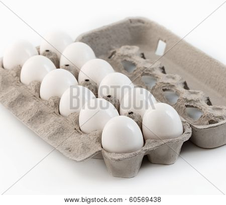 Dozen Large White Eggs