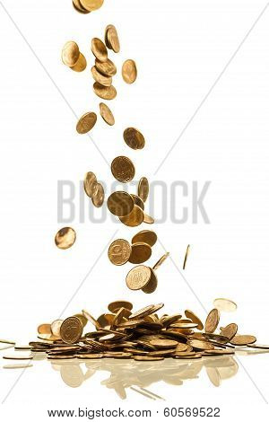 Falling Coins