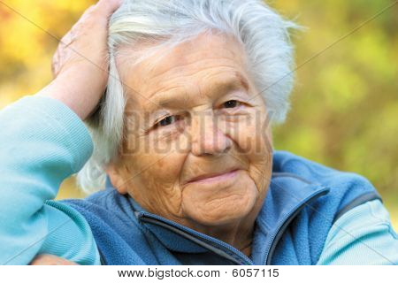 Elderly Woman - Portrait