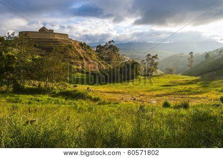 Ingapirca, Inca Ruins In Ecuador.