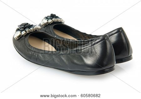 Ballet shoes in fashion concept