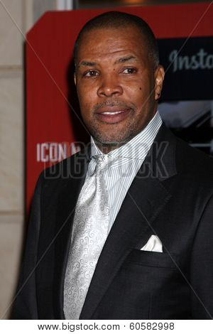 LOS ANGELES - FEB 25:  Eriq LaSalle at the 2nd Annual ICON MANN Power Dinner at Peninsula Hotel on February 25, 2014 in Beverly Hills, CA