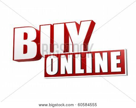Buy Online In 3D Letters And Block