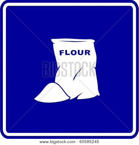flour bag sign
