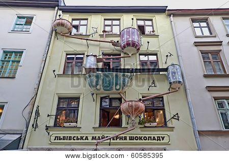 Unique Building In Lvov