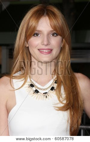 LOS ANGELES - FEB 24:  Bella Thorne at the