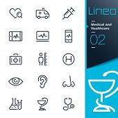 image of measuring height  - Medical and Healthcare outline icons  - JPG