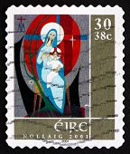 Postage Stamp Ireland 2001 Madonna And Child, Christmas
