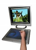 Graphics Tablet poster