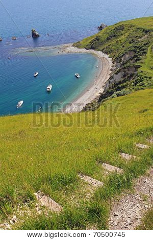 Coastal Path With View To Mupe Bay