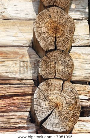 Logs Of An Old Country House