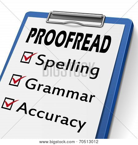 Proofread Clipboard
