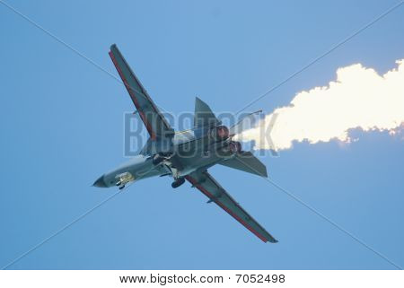 General Dynamics F-111 Aardvark At Singapore Airshow