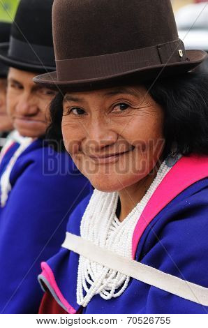Colombian Guambiano Indigenous Group