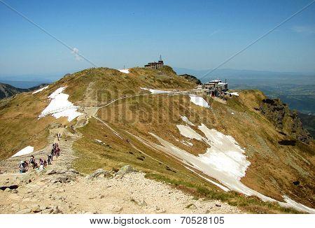 Tatra mountains in Poland, near city Zakopane -