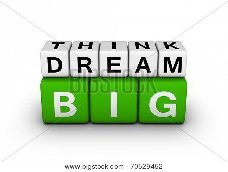 big think big dream symbol