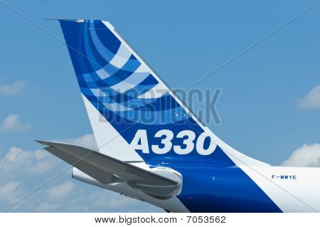 Airbus A330 At Singapore Airshow