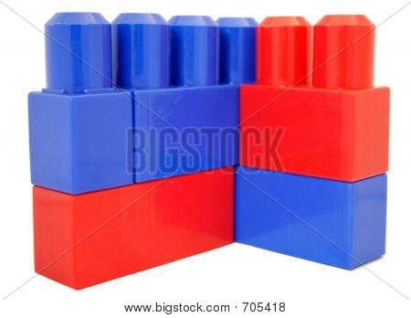 Red And Blue Blocks