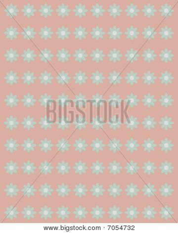 Victorian floral scrapbook background