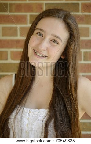 Long Hair And Braces