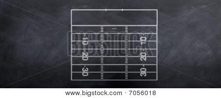 American Football Strategy Field