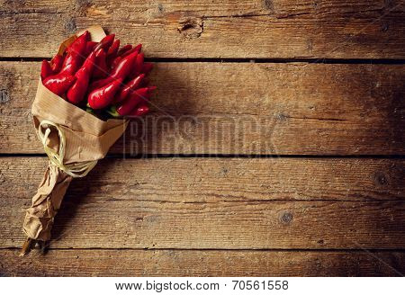 Bunch Of Red Hot Pepper