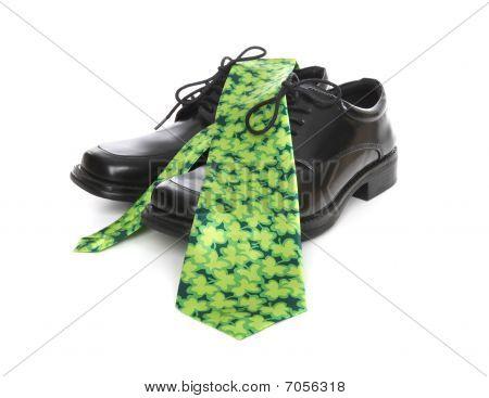 Business Man Saint Patricks Tie